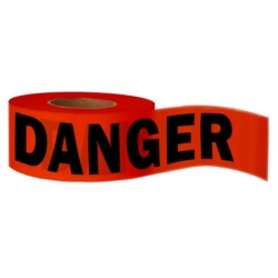 Rental store for Red Danger Tape  3  x 1,000 in Boston MA