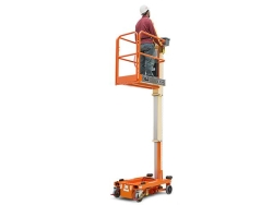 Rental store for JLG 830P Push Around Mast Lift 14.2  WH in Boston MA